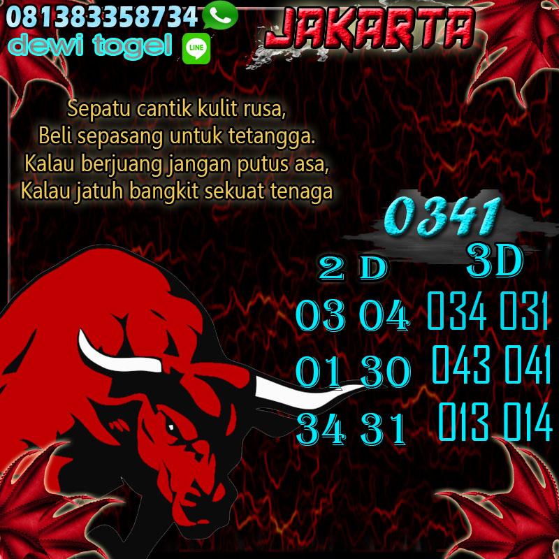 PREDIKSI JITU JAKARTA (JKT) 15 AGUSTUS 2020