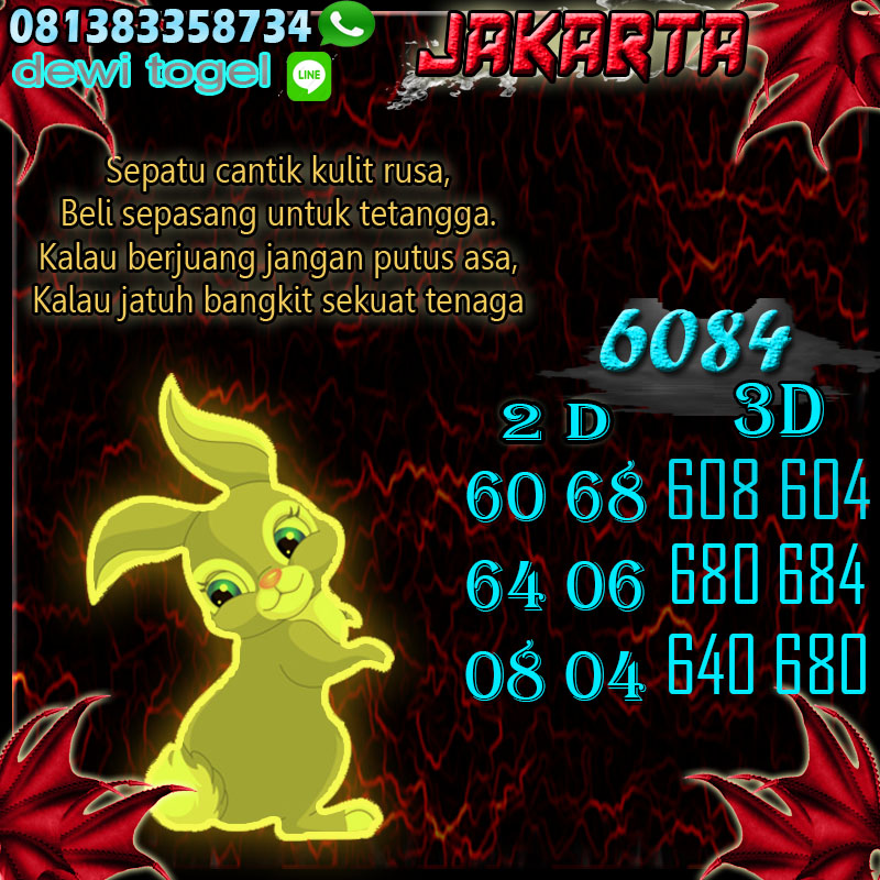 PREDIKSI JITU JAKARTA (JKT) 16 AGUSTUS 2020