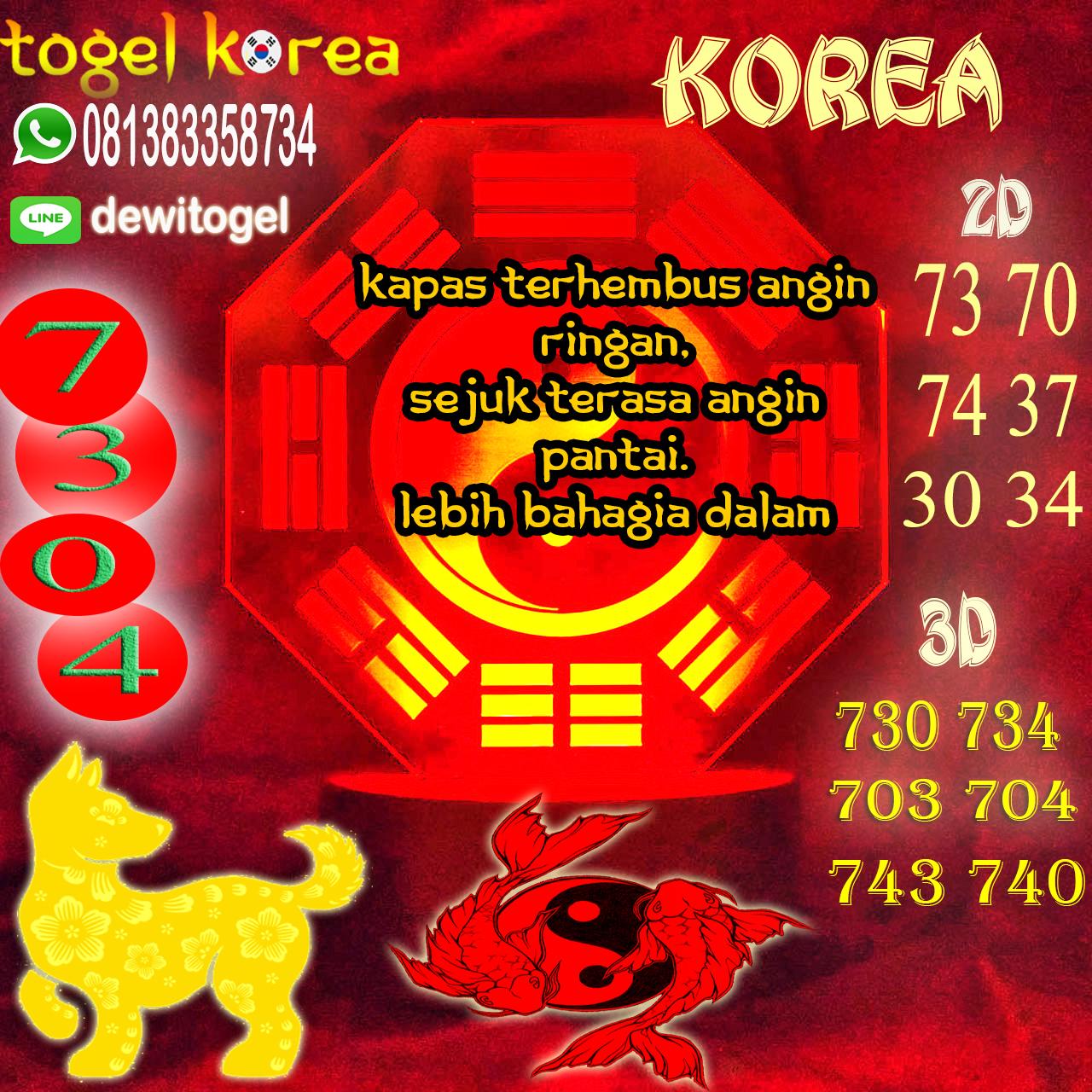 PREDIKSI JITU KOREA (KOR) 09 AGUSTUS 2020