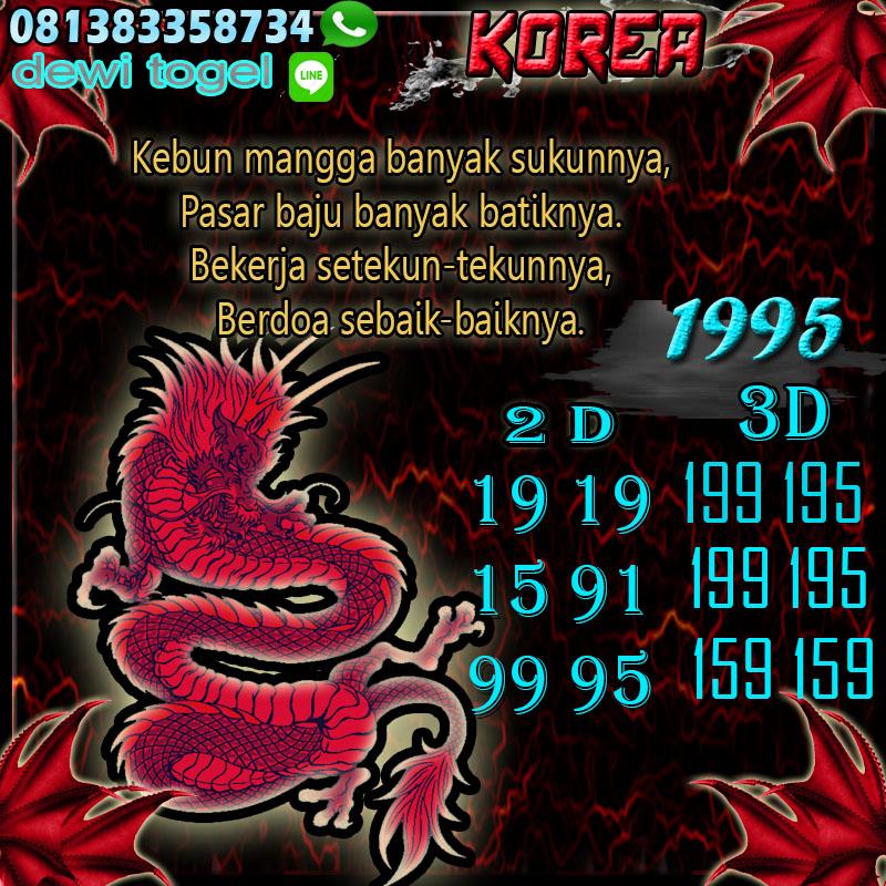 PREDIKSI JITU KOREA (KOR) 15 AGUSTUS 2020